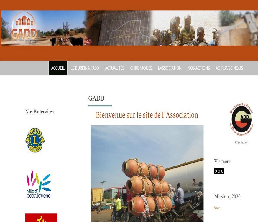 GADD website