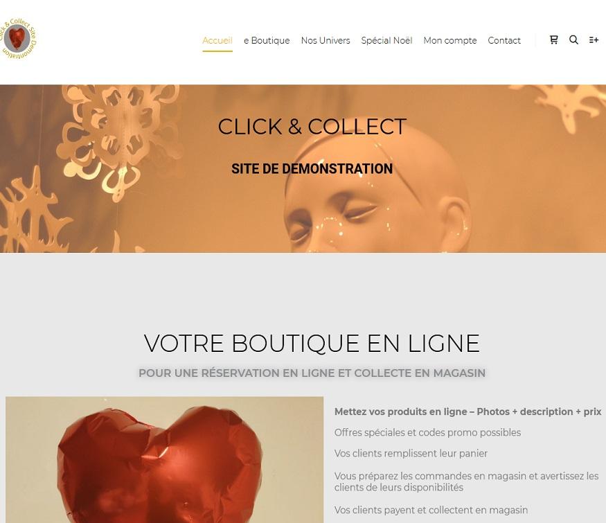 Demo Click Collect